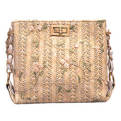 Gorgeous Lace/Straw Crossbody Bags/Shoulder Bags/Beach Bags/Bucket Bags