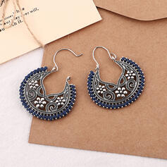 Exotic Alloy Braided Rope Earrings