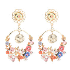 Alloy Resin Women's Fashion Earrings