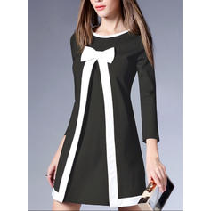 A-line Above Knee Casual/Elegant Dresses
