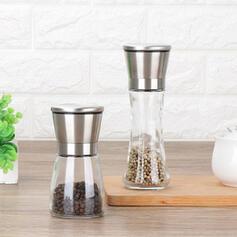 Multi-functional Wayfarer Glass Stainless Steel Pepper Grinder
