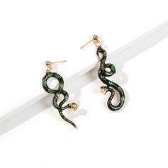 Slange formet Legering Kvinder Mode øreringe