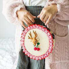 Elegante/intrecciato/Natale Borse di tela