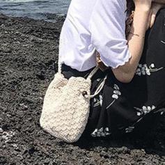 Charming Straw Beach Bags