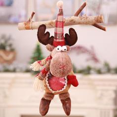 щасливого Різдва Олені Подарунковий мішок Тканина Лялька Різдвяний декор