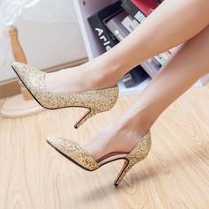 Women's Sparkling Glitter Stiletto Heel Pumps