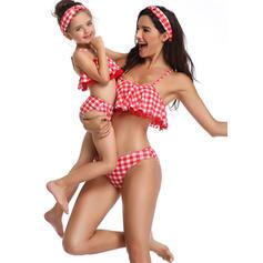 Maman et moi À Pois Inmprimé Correspondant à Maillots de bain
