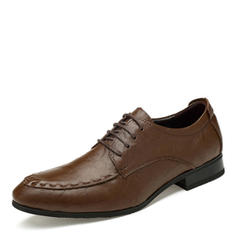 Lace-up U-Tip Dress Shoes Real Leather Men's Men's Oxfords