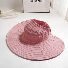 Dames Le plus chaud Coton/Tissu Chapeaux de plage / soleil/Chapeau de seau