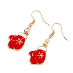 Lovely Alloy Earrings Christmas Jewelry