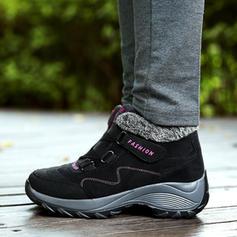 Donna Camoscio Casuale All'aperto con Velcro scarpe