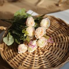 """11.42""""(Około.29cm) Róże Jedwab Jedwabne Kwiaty (Zestaw 2)"""