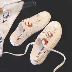 Vrouwen Zeildoek Casual met Vastrijgen schoenen
