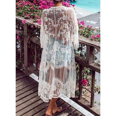 Solid Color Elegant Fashionable Beautiful Cover-ups Swimsuits