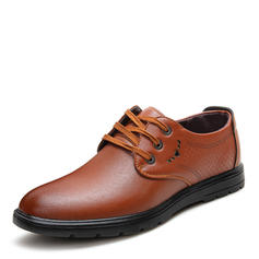 Lace-up Pantofi rochie Muncă Microfibră din piele Bărbaţilor Oxfords de barbati