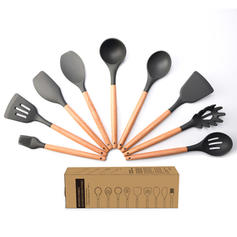 Silicone Cooking Utensils (Set of 9)