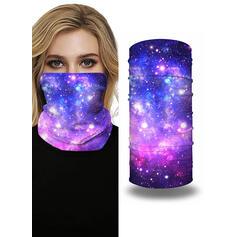 Respirable/Protector/Cobertura completa/Multifuncional/Impresión del cielo/Sin Costura/A prueba de polvo Bandanas
