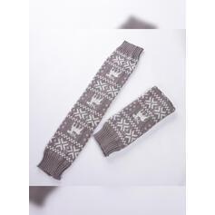 Print Breathable/Comfortable/Women's/Christmas/Knee-High Socks Socks/Stockings
