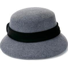 Señoras' Maravilloso/Moda Madera/Acrílico Bombín / cloché Sombrero
