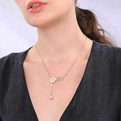 Lovely Alloy With Imitation Pearl Women's Necklaces