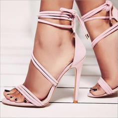 Femmes PU Talon stiletto Sandales Escarpins À bout ouvert avec Autres chaussures