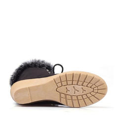 De mujer Ante Tipo de tacón Cerrados Botas Botas al tobillo con Cordones zapatos