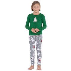 Joulupukki Print Perhe vastaavia Joulu Pyjama