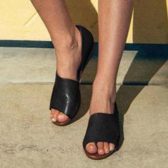 De mujer PU Tacón plano Sandalias Planos con Otros zapatos
