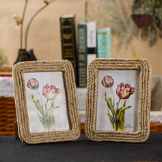Simple Linen Photo Frame