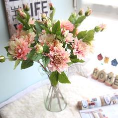 """23.62""""(Aprox.60cm) Dalia Tejido sintético Flores de seda ( conjunto de 2)"""