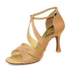 Women's Satin Latin Dance Shoes