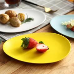 Simple Porcelaine Assiettes