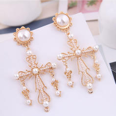 Stylish Alloy Imitation Pearls With Imitation Pearl