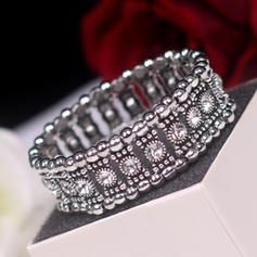 Unique Alloy With Rhinestone Women's Fashion Bracelets (Sold in a single piece)