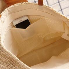Desplazamientos/Estilo bohemio/Trenzado/Simple Bolsas de mano/Bolso de Hombro/Bolsas de playa