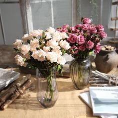 18.5'' Des roses Plastique Bouquets ( ensemble de 2)