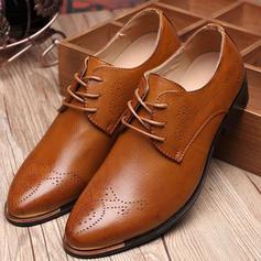 Lace-up Pantofi rochie Imitaţie de piele Bărbaţilor Oxfords de barbati
