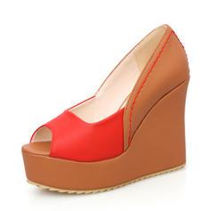 Frauen Kunstleder Keil Absatz Absatzschuhe Keile mit Andere Schuhe