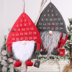 Gnome Merry Christmas Hanging Non-Woven Fabric Christmas Décor Christmas Advent Calendar