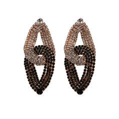Fashionable Rhinestones Women's Fashion Earrings