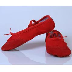 Femmes Ballet Chaussures plates Toile Ballet
