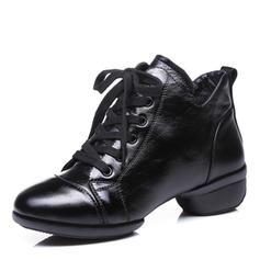 De mujer Estilo Moderno Zapatillas Sala de Baile Zapatillas Piel Sala de Baile