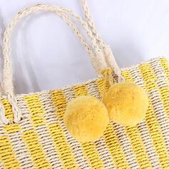Único/Bonito/Vintage/Estilo boêmio/Trançado Bolsas Crossbody/Bolsa de Ombro/Sacos de praia
