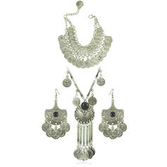 Unique Fashionable Exotic Alloy Women's Jewelry Sets (Set of 3)