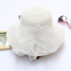 Ladies ' Piękny Rattan słomy Z Kokarda Słomiany kapelusz