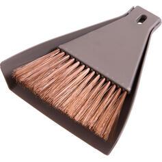 Modern Polyester Brush & Dustpan (Set of 2)