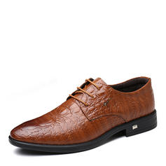 Men's Latin Modern Flats Microfiber Leather Latin