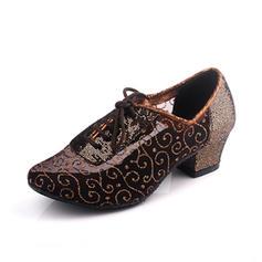 Women's Practice Heels Leatherette Modern