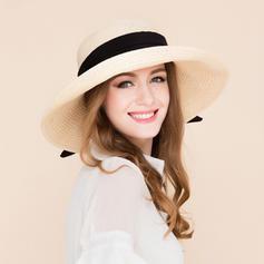 Ladies' Fashion Rattan Straw Straw Hat/Beach/Sun Hats