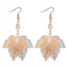 Unique Copper Women's Fashion Earrings